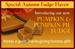 Special Autumn Pumpkin Fudge